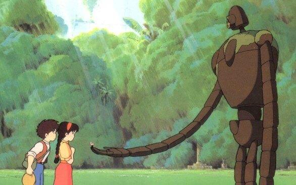 Miyazaki e Laputa Castello nel cielo