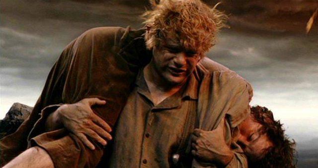 Sam, giardiniere della famiglia Baggins, colui che partì con Frodo, colui che fu servo e vero amico, colui che fu un vero eroe.