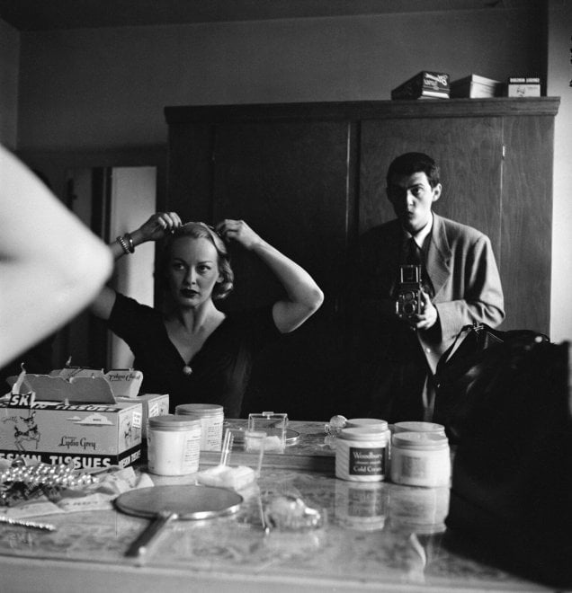 Stanley Kubrick, Stanley Kubrick con Faye Emerson da 'Faye Emerson: Young Lady in a Hurry', 1950.