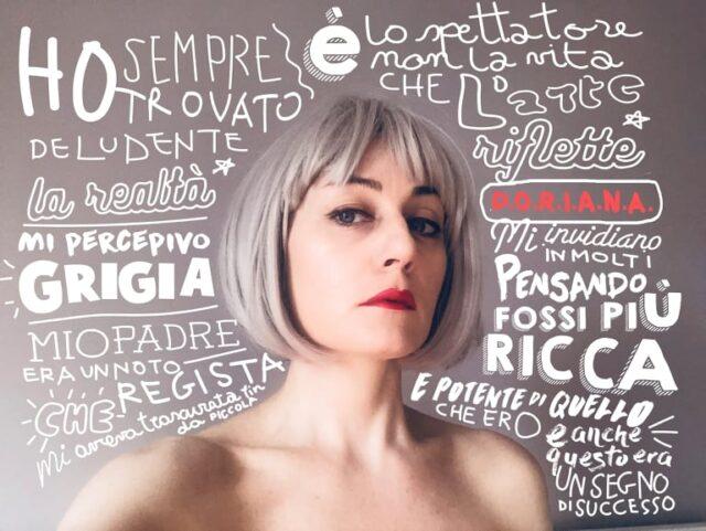 Il mediometraggio Doriana, di Mariano Lamberti, narra della necessità di ritrovare sè stessi. Il monologo è affidato a Caterina Gramaglia.