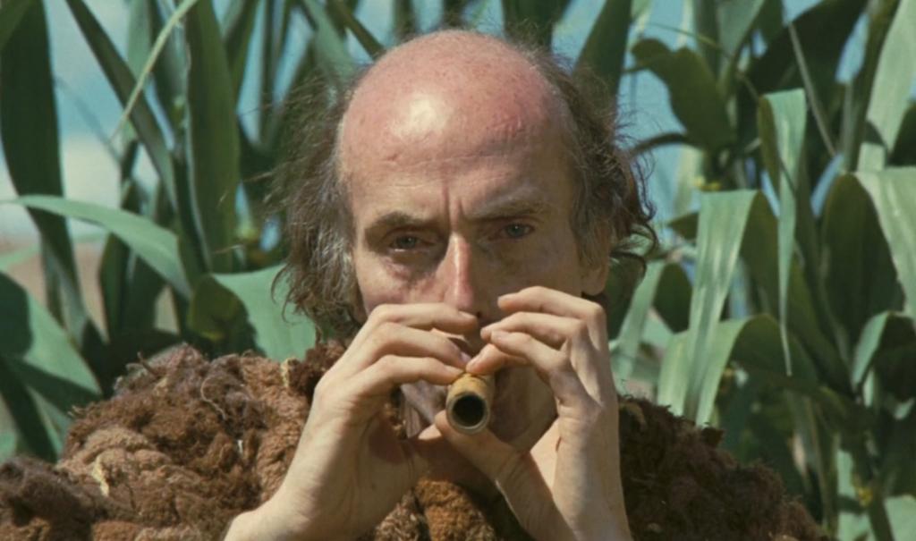 Tiresia interpretato da Julian Beck nell'Edipo Re di Pier Paolo Pasolini (1967)